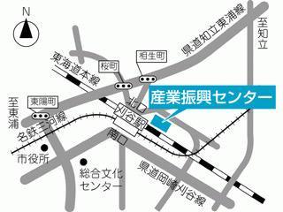 産業振興センター地図