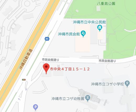沖縄助産師会地図