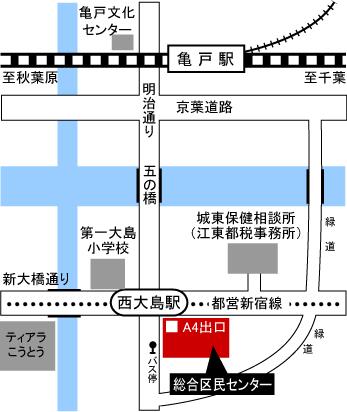 map江東区