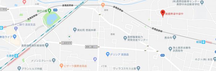 助産所ほやほや地図